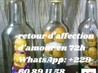 VOYANCE ET RETOUR AFFECTIF DE VOS AMOURS EN 72H DU SUPRÊME MAITRE whatsapp: +229 60 89 11 58